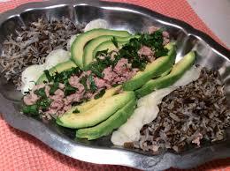 cuisiner le radis noir cuit salade de riz sauvage avocat radis noir et thon ma cuisine