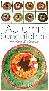 fall suncatchers leaves child and craft