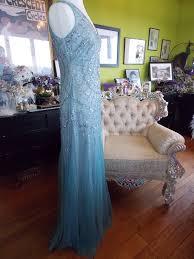 heavenly blue art deco rhinestone wedding reception dance gatsby