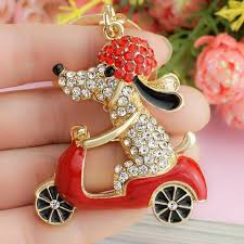 urban cat ring holder images 2016 lovely dog on motorcycle keychain car ring holder bag with jpg