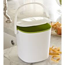 buy oxo good grips compost bin with flip up lid 2 8 litre at