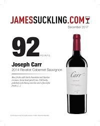 chocolate wine review joseph carr reviews family wine spiritsdeutsch family