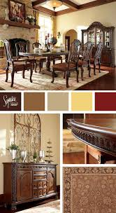 Tuscan Style Dining Room Furniture by Traditional Old World Style North Shore Dining Room Ashley
