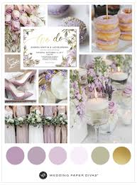 gold wedding theme lilac and gold wedding color palette shutterfly