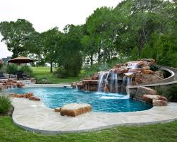 Waterfall Home Decor Swimming Pool Designs With Waterfalls Home Decor Gallery