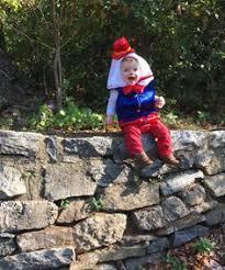 Humpty Dumpty Halloween Costume Firefighter Halloween Costume Father Son Fdny Celebrate