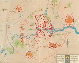 Post Ww1 Map London U0027s Post Ww1 Designs Social Housing History