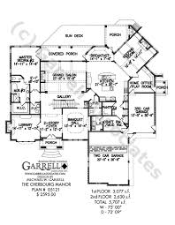 Colonial Floor Plans Cherbourg Manor House Plan Colonial House Plans
