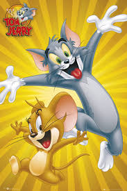 bestel looney tunes tom jerry poster op europosters nl