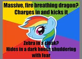 Rainbow Dash Meme - self made rainbow dash meme