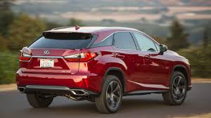lexus rx 2016 2016 lexus rx crossover review with price horsepower and photo