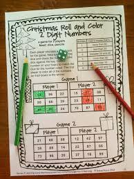 christmas math games first grade fun christmas activities
