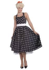 50s Halloween Costumes Kids Black White 50 U0027s Polka Dot Dress