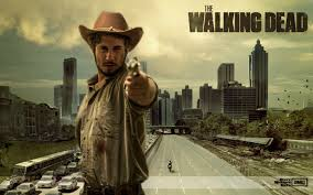 halloween city dalton went as rick grimes for halloween couldn u0027t nail the