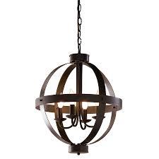 interior luxury bronze allen roth lighting bristow 4 light