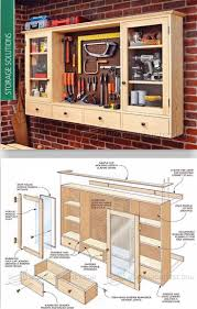Basement Storage Shelves Woodworking Plans by 1771 Best Garage Images On Pinterest Garage Storage Garage Shop