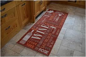 20 ways to red kitchen rugs