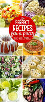 perfect party food recipes 2 full menus crazy for crust
