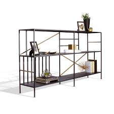 Sauder Black Bookcase by New Prairie Horizontal Bookcase By Sauder Boutique Yliving