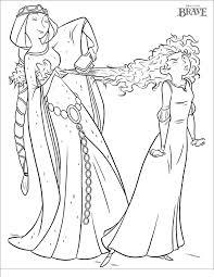 Brave Coloring Book 555058 Disney Brave Coloring Pages