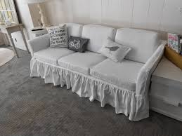How To Make Sofa Covers Custom Sofa Slipcover Home Design Ideas