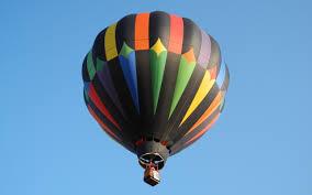 rainbow color air balloon hd wallpaper