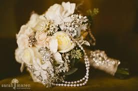 vintage bouquet vintage wedding bouquet handmade custom vintage brooch wedding