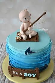 Fishing Themed Baby Shower - fishing baby shower theme cake baby shower pinterest fishing