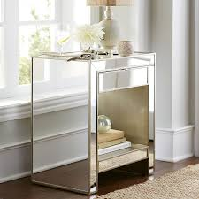 Mirrored Furniture Bedroom Ideas Alexa Mirrored Nightstand U0026 Dresser Bedroom Set Pier 1 Imports