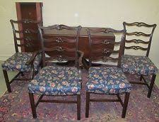 Mahogany Dining Room Furniture Mahogany Dining Room Set Ebay