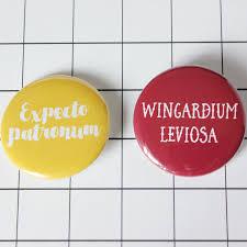 Pinset Hp hp button pin set nerdywolves
