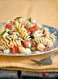 greek pasta salad recipe saveur