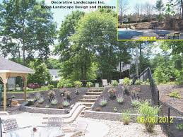 Slope Landscaping Ideas For Backyards Landscaping Ideas For Hillside Backyard Lovely Backyard Slope