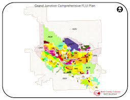 Grand Junction Colorado Map by Imagery And Elevaton Data Download