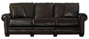 Jackson Leather Sofa Jackson Monaco Bonded Leather Sofa Walnut Jf 4451 03 Walnut At
