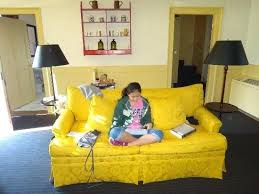 Yellow Sleeper Sofa Bright Yellow Sleeper Sofa Catosfera Net