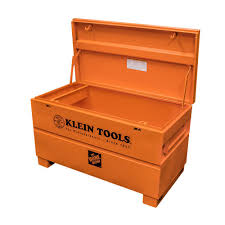 klein tools 48 in steel tool site box 54605 the home depot