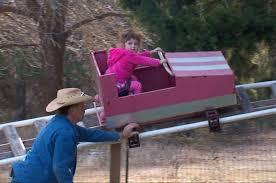 backyard theme park this texas grandpa built his granddaughter a backyard theme park