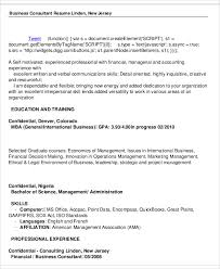 Consultant Resume Samples by 50 Business Resume Examples Free U0026 Premium Templates