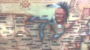 Indian Tribes North America Map by American Indian Tribes Map Youtube