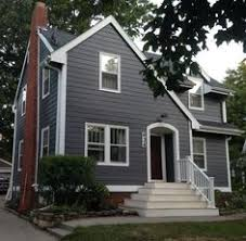 House Colors Exterior Grey Siding Paint Color Is Gauntlet Gray Sherwin Williams And