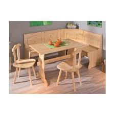 vernis table cuisine ensemble coin repas en pin vernis naturel crepa achat vente