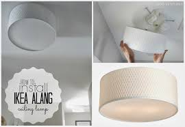 duo ventures how to install ikea alang ceiling lamp