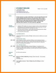 resume exles for college students on cus jobs cv exles student part time job europe tripsleep co