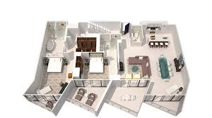 Penthouse Floor Plan by Hotel Suites In Miami W South Beach