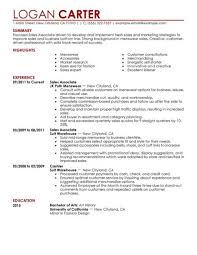 sle resume objective for retail position resume retail sales associate resume cover letter retail and restaurant