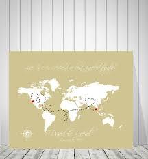 World Map Push Pin Board by Wedding World Map Guest Book Travel Map Foam Board Map Push