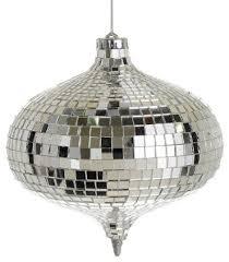 disco ornament contemporary ornaments by
