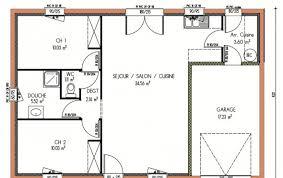 plan maison une chambre plan et photos maison 2 chambres de 67 m
