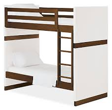 Moda Kids Wood Bunk Bed Modern Bunks  Lofts Modern Kids - Kids wooden bunk beds